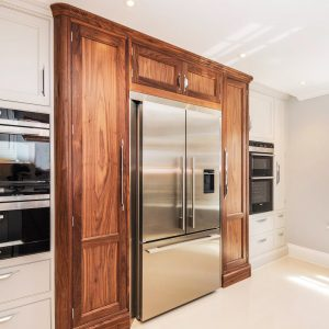 beautiful veneered kitchen