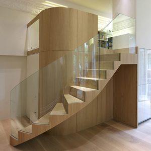 Hallway veneer