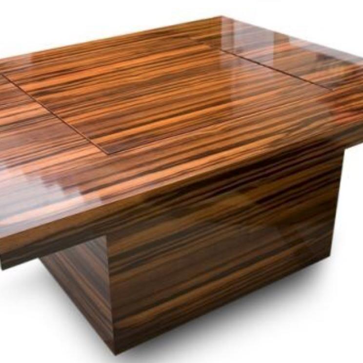 coffee table veneer
