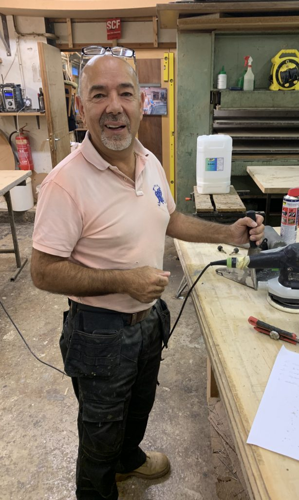 Veneer Workshop Steve